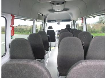 Mercedes Benz 514 cdi Sprinter Traveliner Long Diesel BlueTec BEFF TL17 High Roof 7G-Tronic Minibus