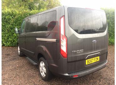 Ford, Tourneo Custom, 2.0 TDCi 310 L1 Titanium Bus 5dr Diesel Manual (8 Seats) (159 g/km, 128 bhp)