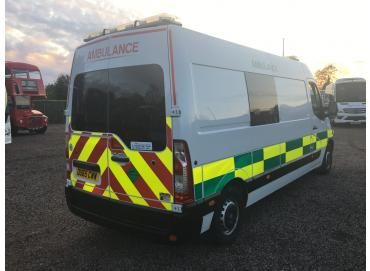 2016 RENAULT MASTER LM35 BUSINESS DCI AMBULANCE